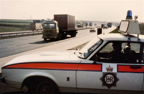 Jam Butty on the Motorway   A Ford Capri, perhaps for many