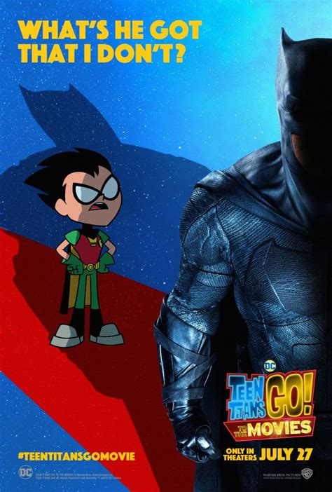 New 'Teen Titans GO! To the Movies' posters troll Batman