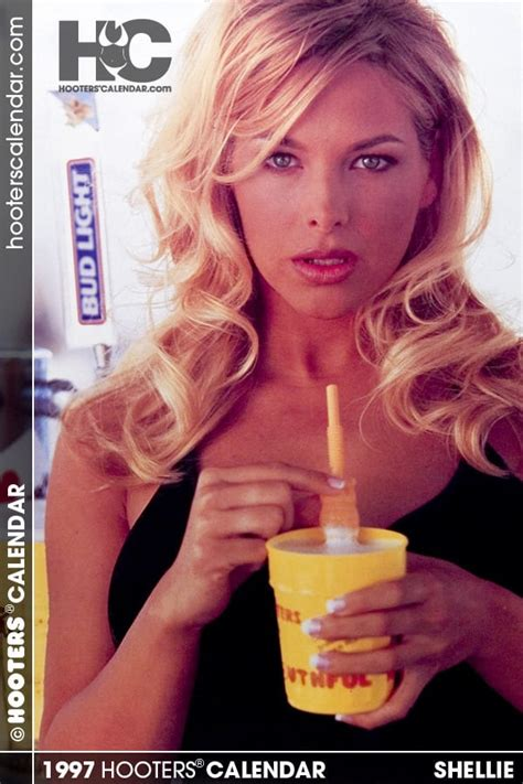 Shellie, 1997 - The 50 Hottest Hooters Calendar Girls of