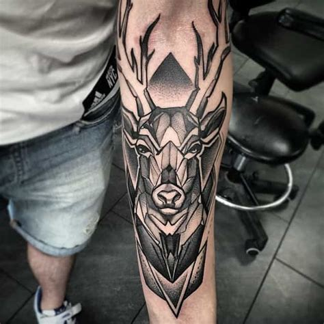 150 Meaningful Deer Tattoos (An Ultimate Guide, February 2020)