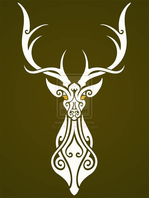 the_white_stag_by_verreaux-d4oc1hf