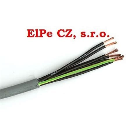 Kabel YSLY-JZ 4x1,5 - CYSY a CYLY | ElPe CZ, s