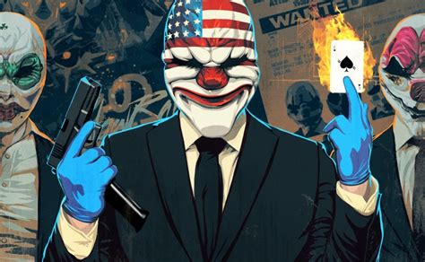 """Payday 2 for PS4 and Xbox One includes """"a year's worth of"""