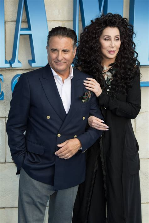 Pictured: Cher and Andy García | Celebrities at Mamma Mia