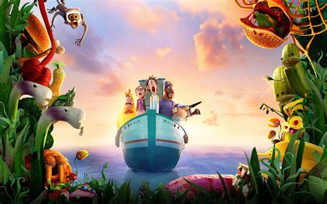 Cloudy with a Chance of Meatballs 2 Movie Wallpapers   HD