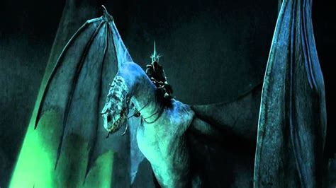 The Lord of the Rings - Witch King Screech ☆ - YouTube