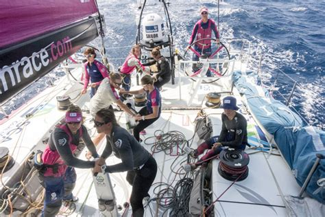 All-Female Sailing Crew Provide Inspiration on