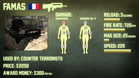CS:GO FAMAS Weapon Guide (Counter Strike: Global Offensive