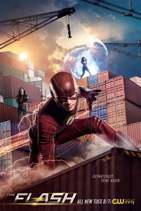 Poster and promo images for The Flash Season 4 Episode 20