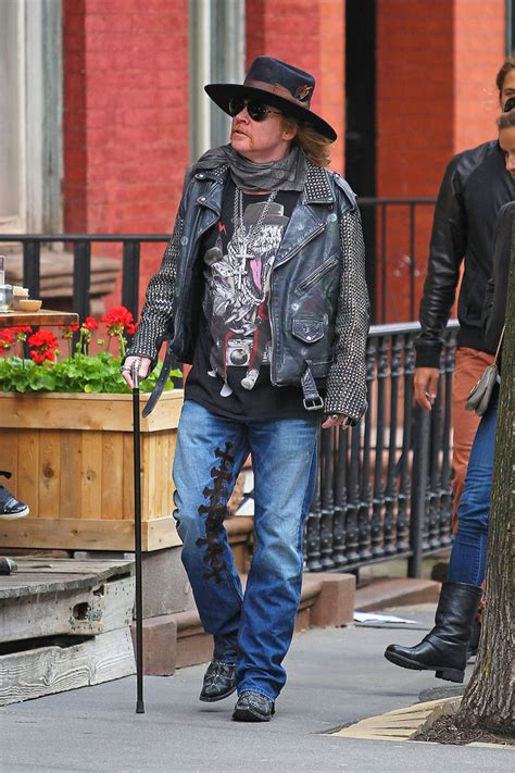 Axl Rose Spotted in NYC - Zimbio